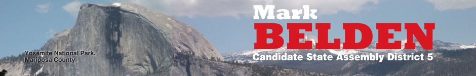 Mark Belden - Candidate for CA State Assembly District 5